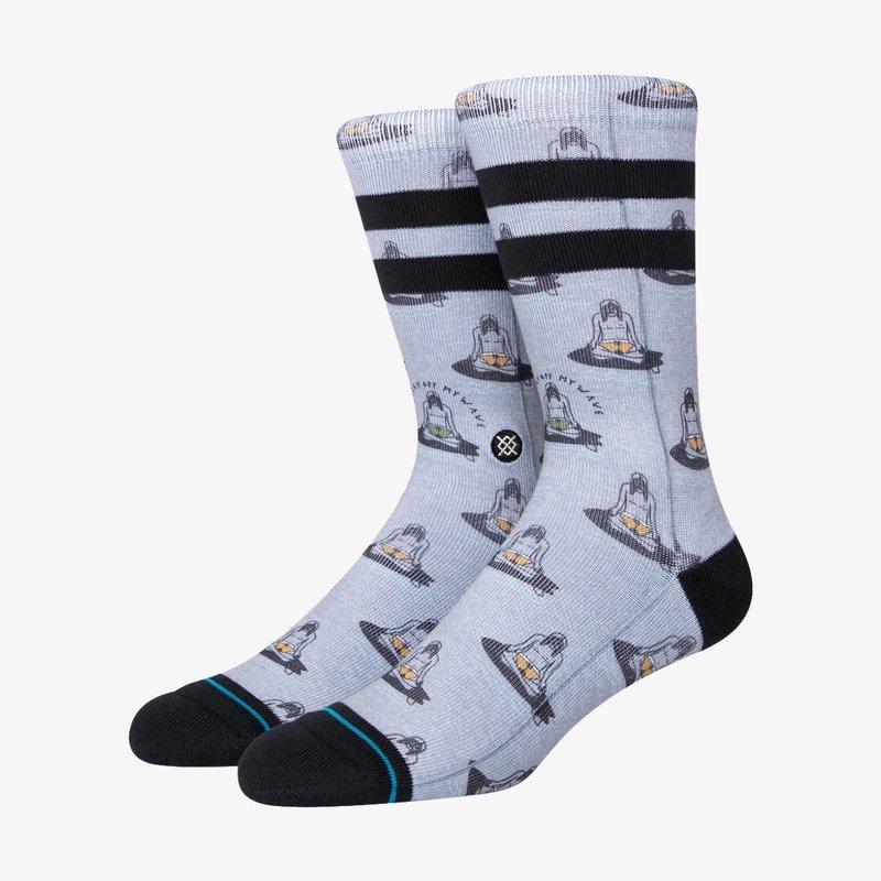 Stance Stance Namastay Crew Socks Heather Grey L