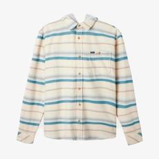 O'Neill O'Neill Redmond Hooded Flannel Cream