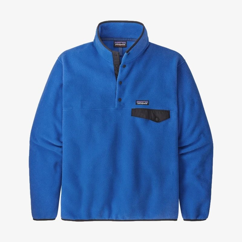 Patagonia Patagonia Men's Lightweight Synchilla Snap-T Pullover Bayou Blue