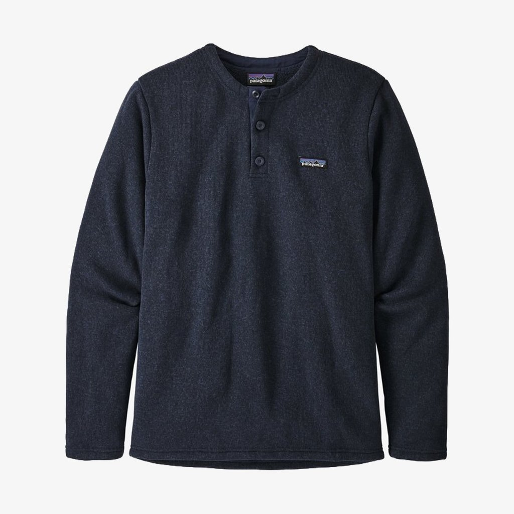Patagonia Patagonia Men's Better Sweater Fleece Henley Pullover New Navy