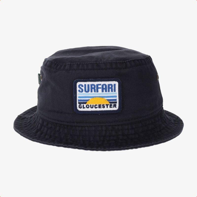 Surfari Surfari Dawn Patrol Bucket Hat Navy
