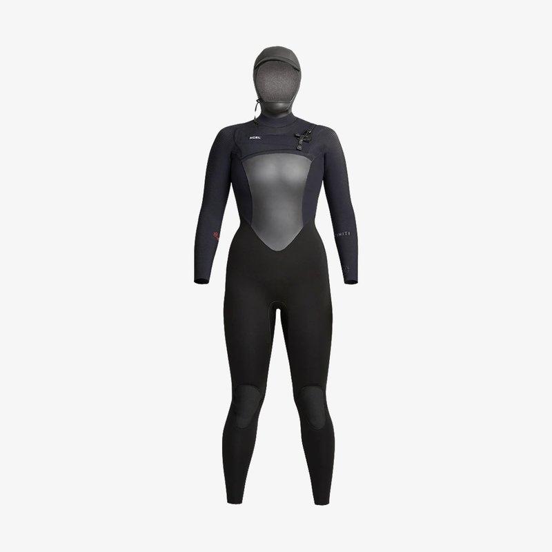 XCEL Xcel Women's Infiniti 5/4mm Hooded Full Wetsuit Black