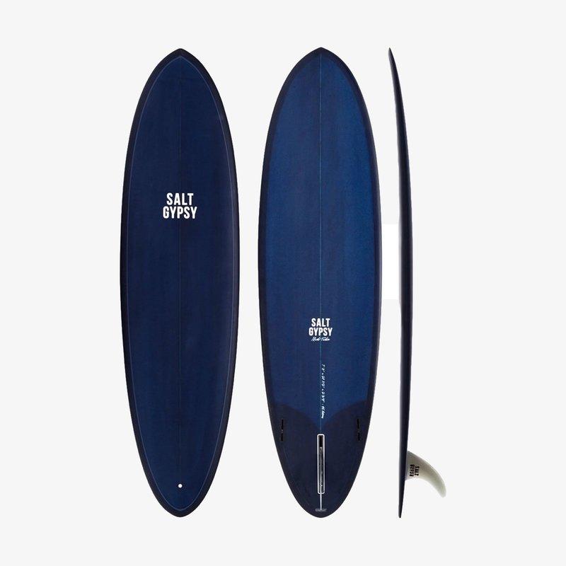 """Salt Gypsy 6'8"""" Salt Gypsy Mid Tide Ocean Blue Tint"""