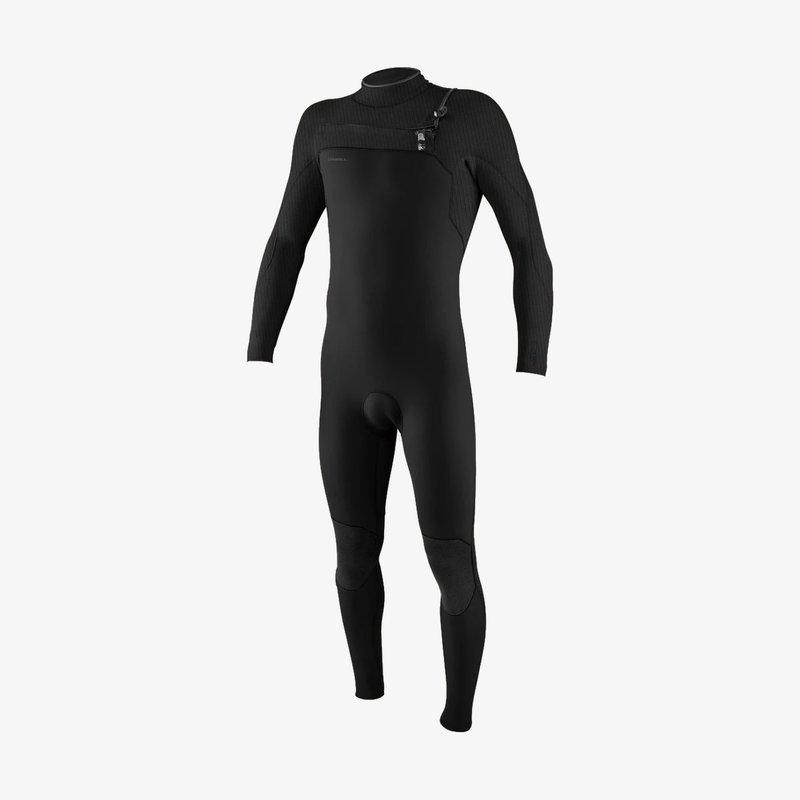 O'Neill O'Neill Hyperfreak 4/3+mm Chest Zip Full Wetsuit Black