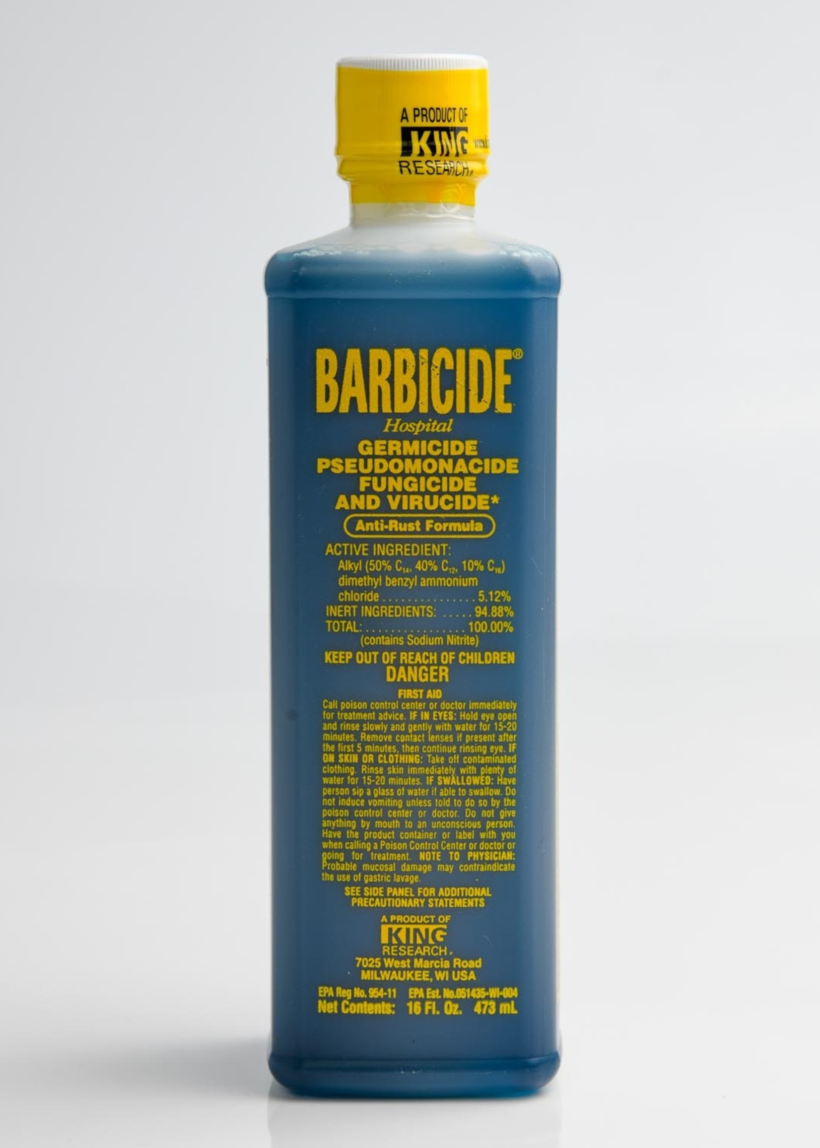 Barbicide Disinfectant 16oz