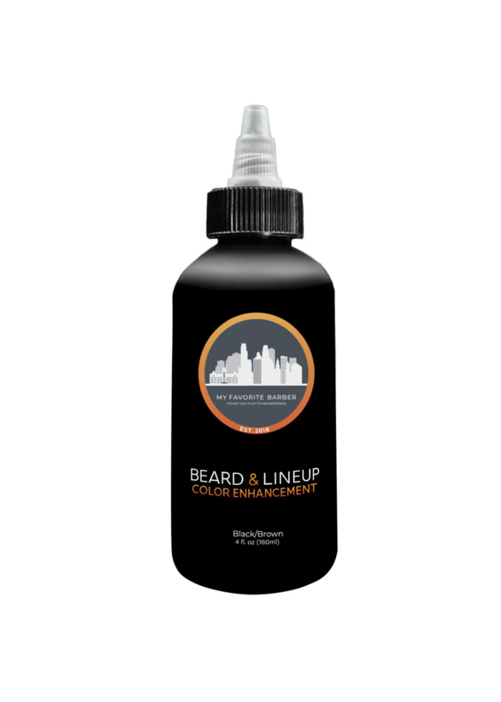 My Favorite Barber My Favorite Barber- Beard  Enhancement-Black & Brown 2oz
