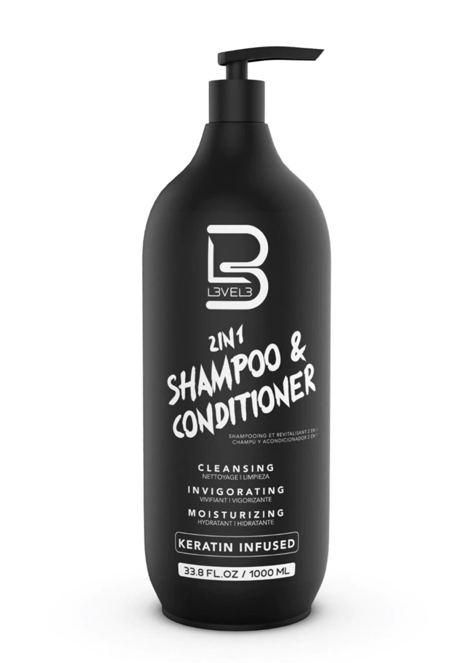 Level 3 L3 2 in 1 Shampoo & Conditioner-1000ML