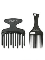 Level 3 L3 Hair Pik Comb Set