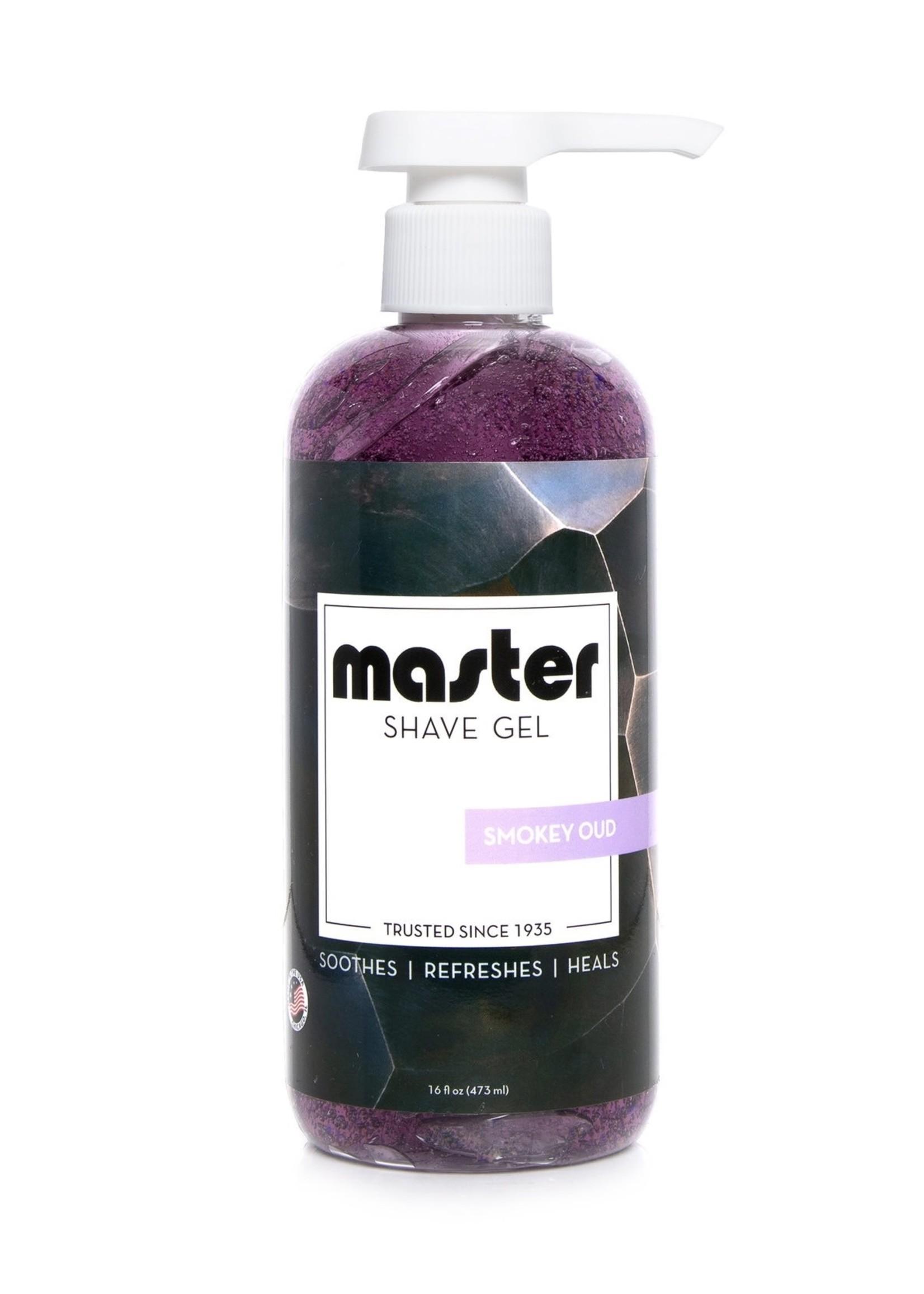 Master  Shaving Gel - Smokey Oud