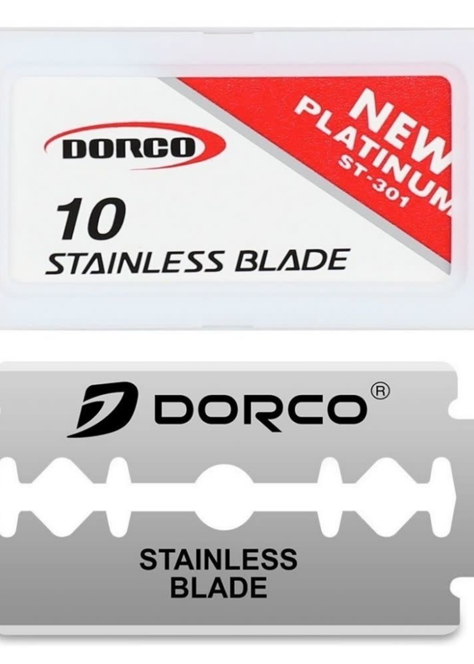 Dorco Stainless Steel Blade- Red
