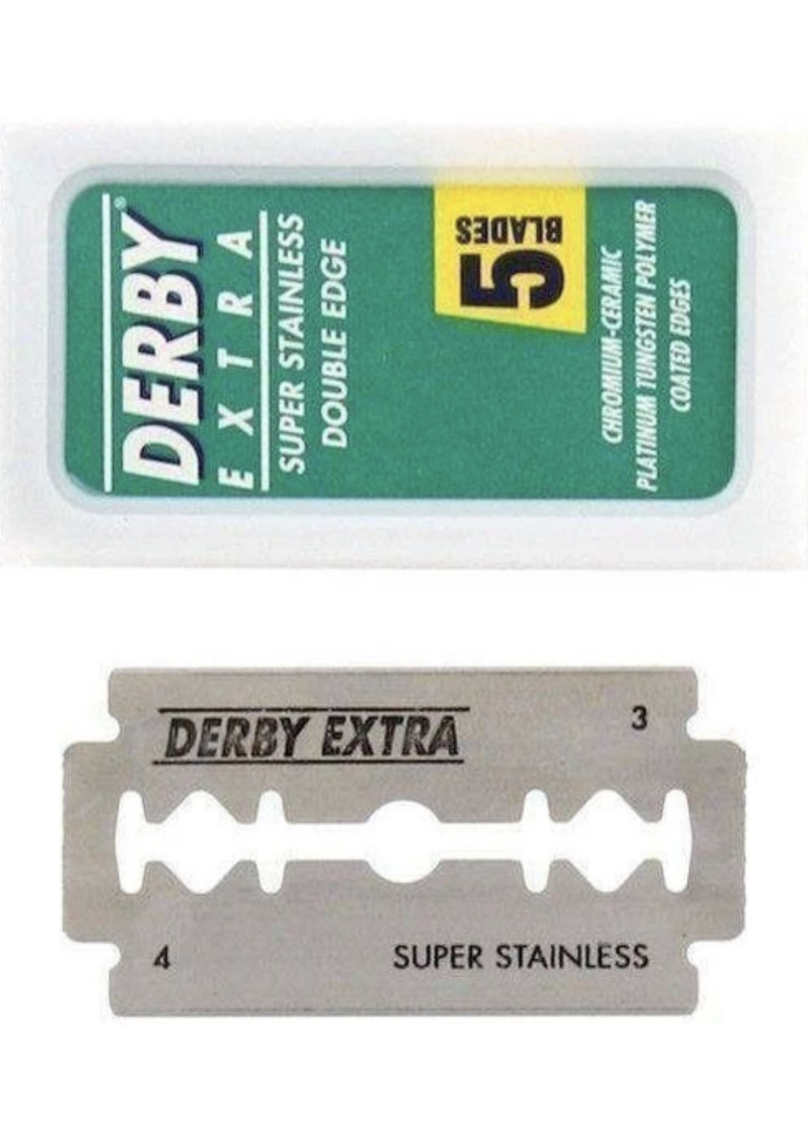 Derby Stainless Double Edge Razor Blades