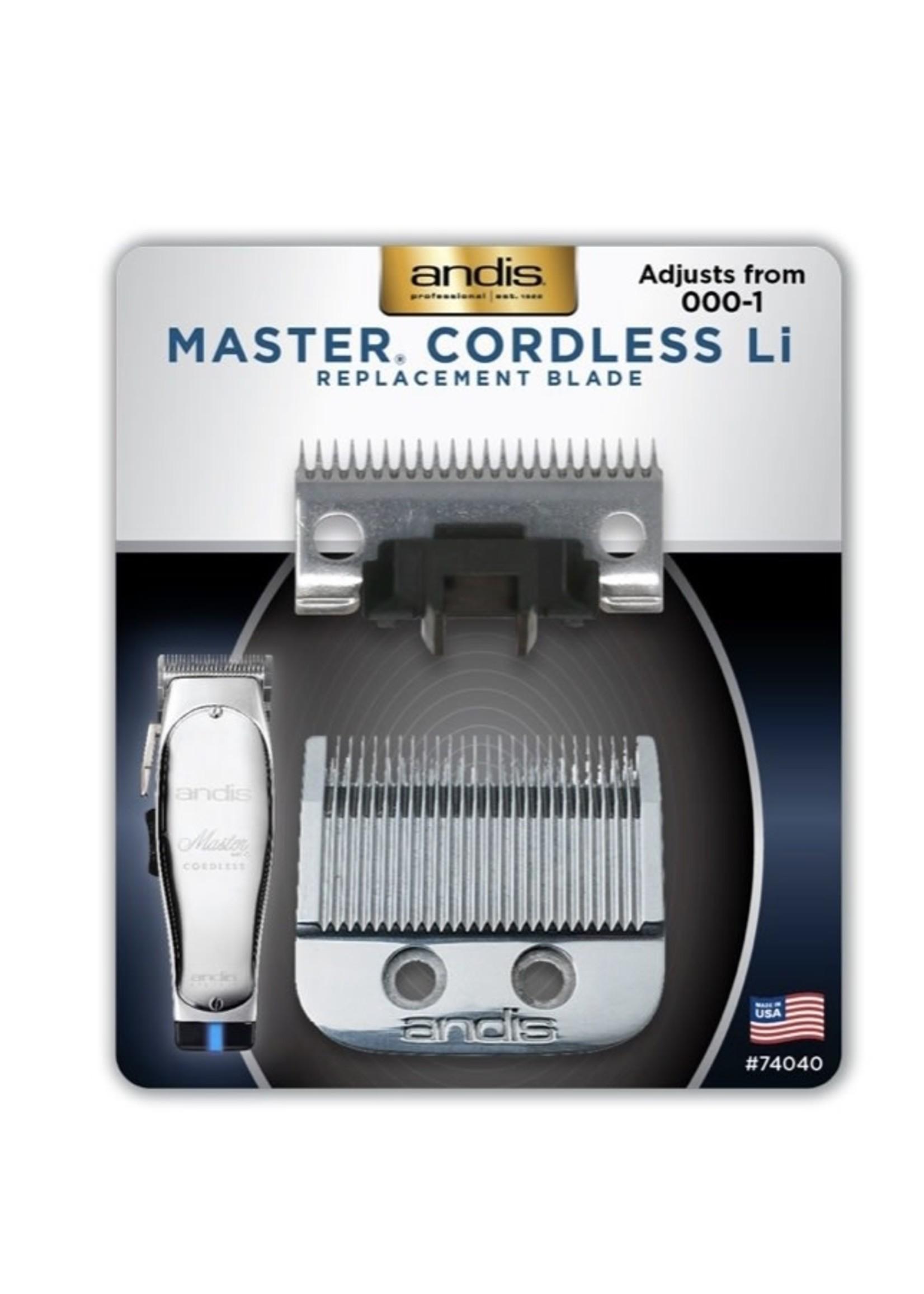 Andis Andis Master Blade Cordless Li-000-1