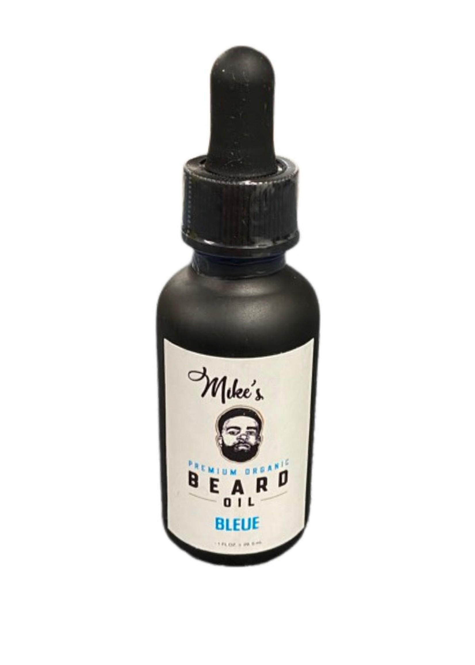 Mike's Premium Organic Beard Oil- Bleue