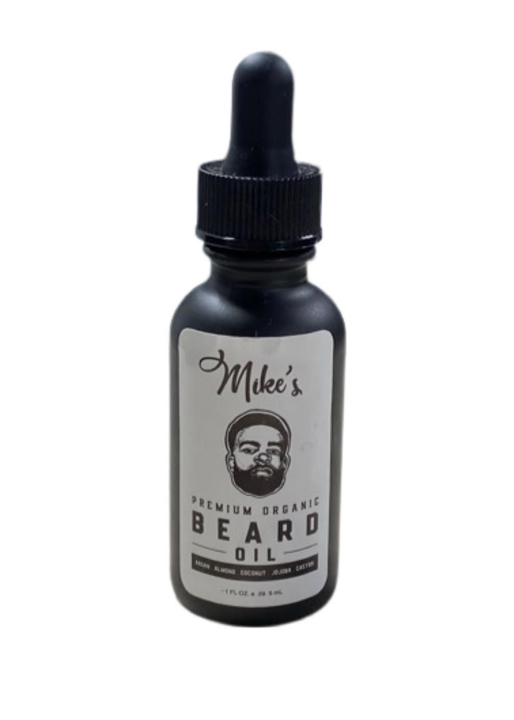 Mike's Premium Organic Beard Oil-  Original scent