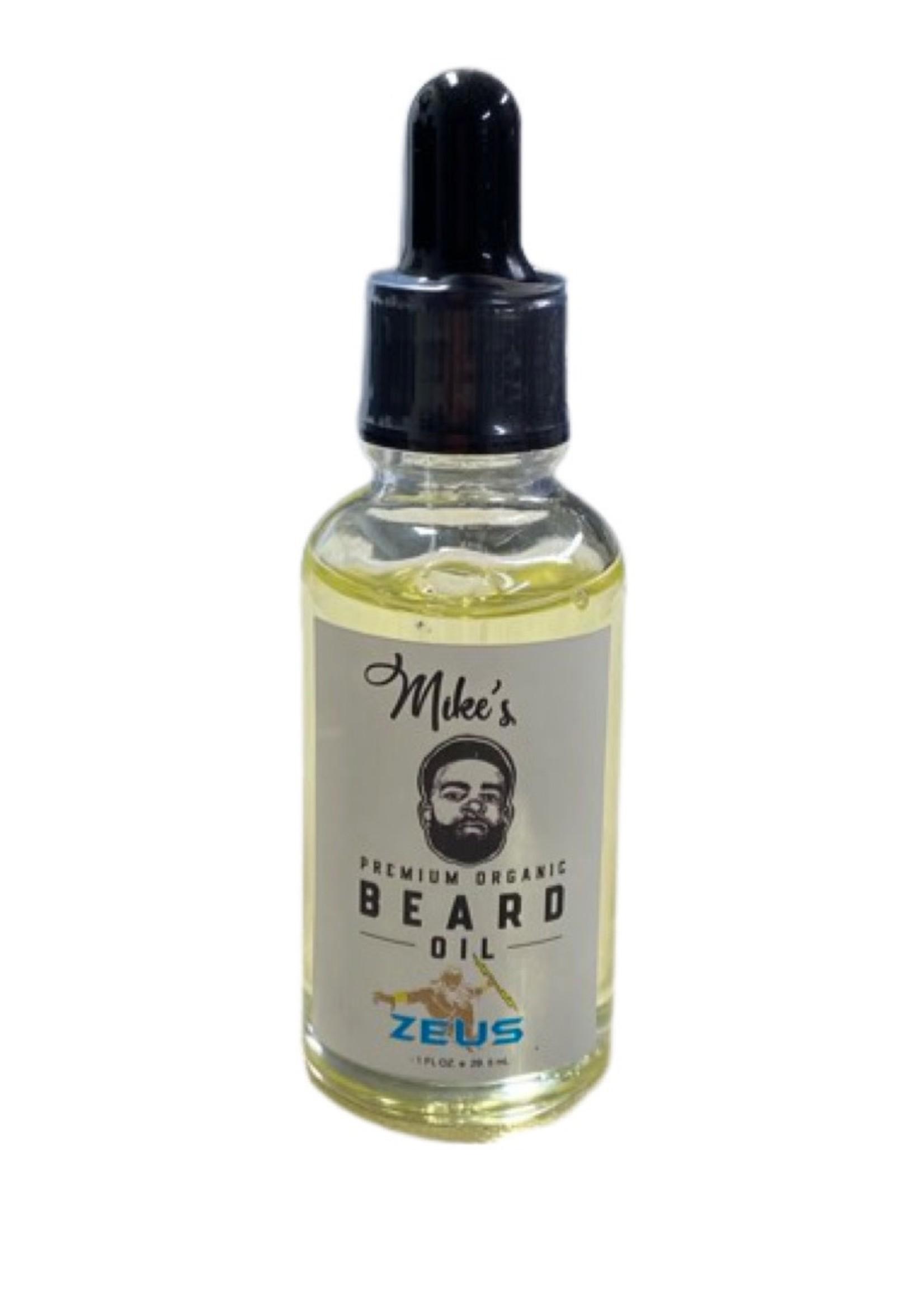 Mike's Premium Organic Beard Oil- Zeus