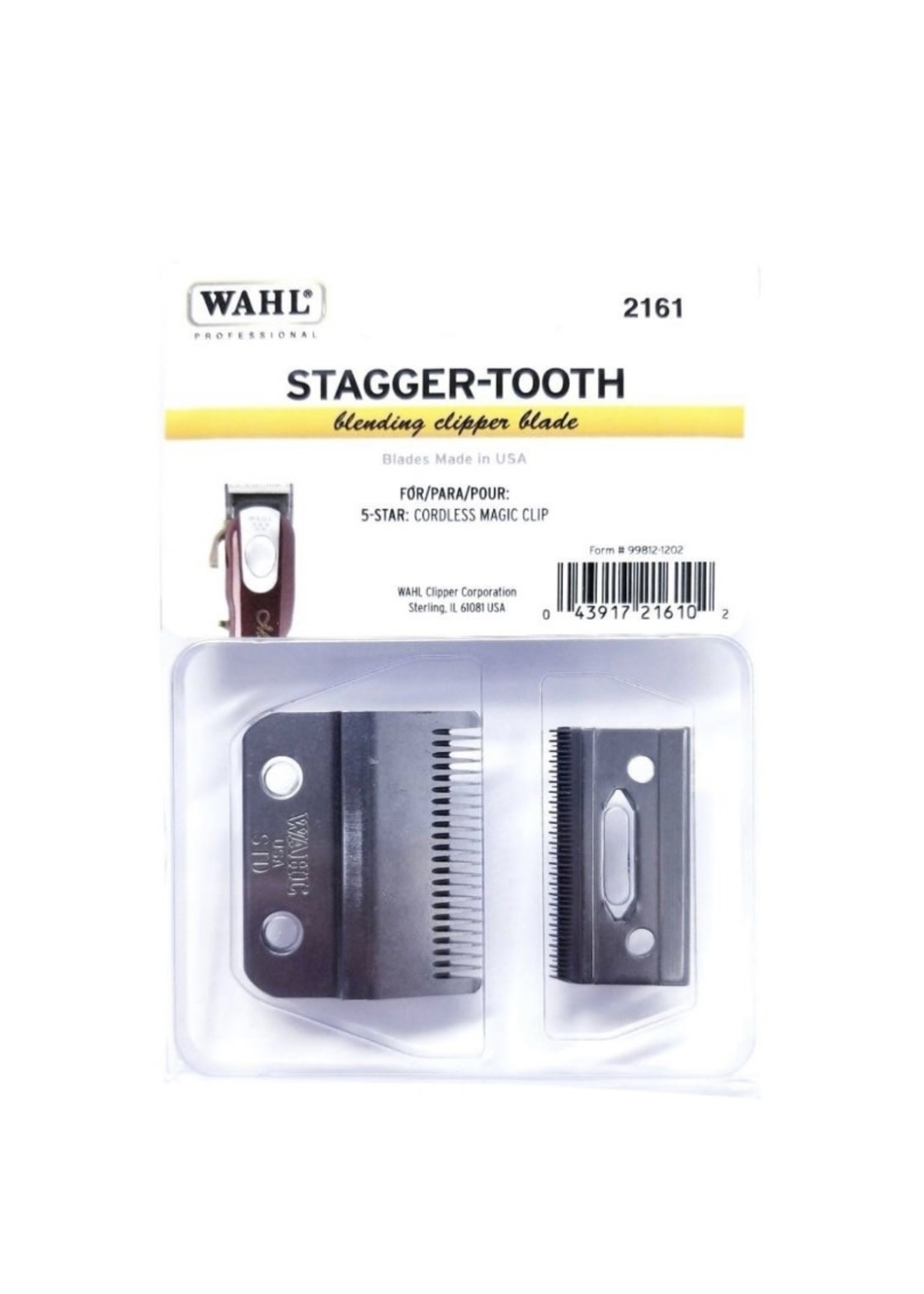 Wahl Wahl Magic Clip- Stagger Tooth Blade- #2161