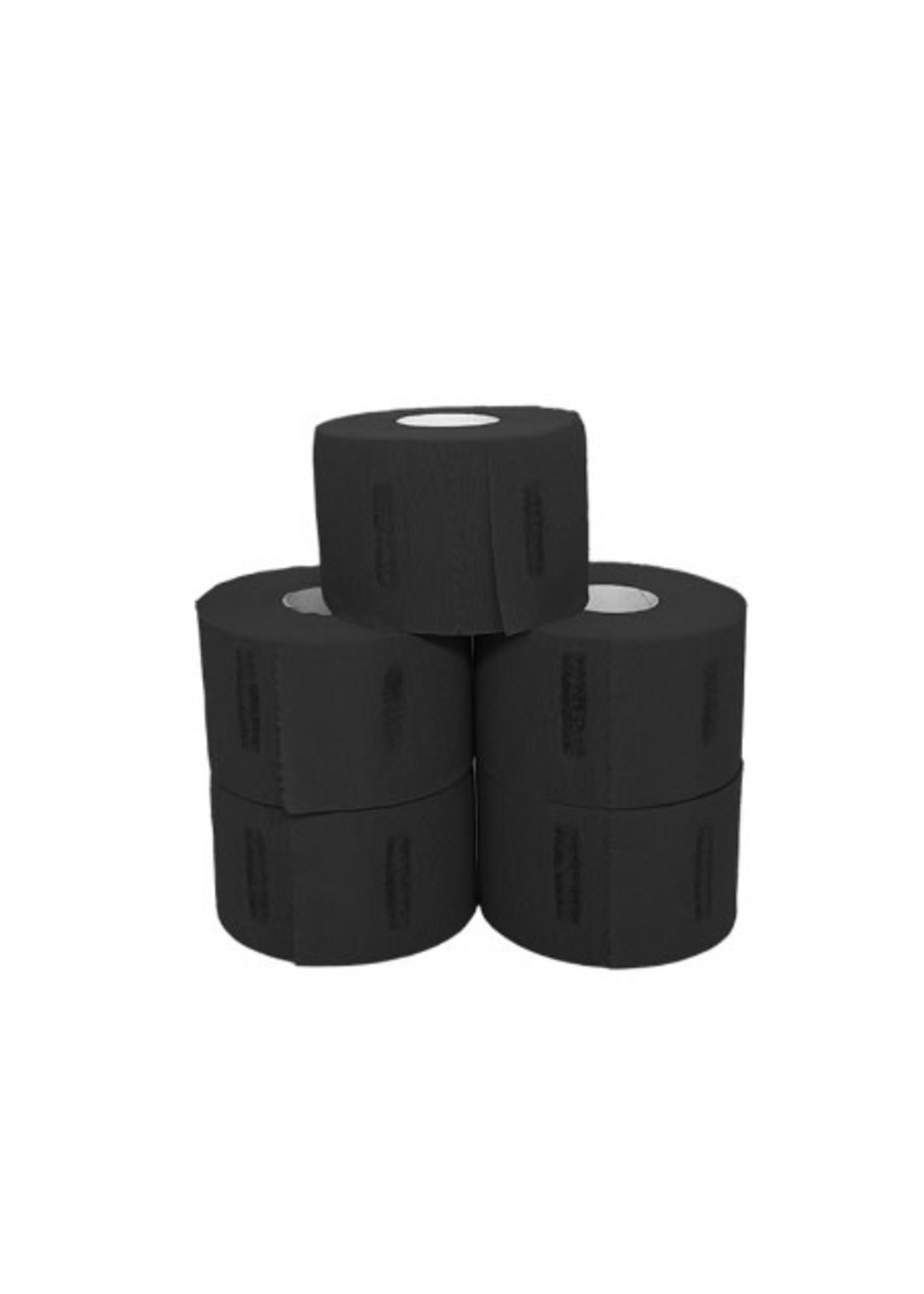 Level 3 L3-5 Rolls Neck Strips- Black