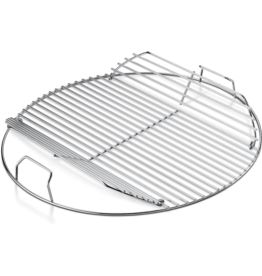 """Weber Hinged Cooking Grate - Fits 22'' (not Smokey Mountain Cookerâ""""¢ Smoker)"""