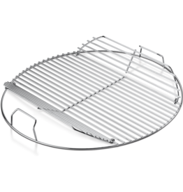 """Weber Hinged Cooking Grate - Fits 18'' (not Smokey Mountain Cookerâ""""¢ Smoker)"""