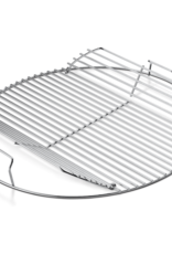 "Weber Hinged Cooking Grate - Fits 18'' (not Smokey Mountain Cookerâ""¢ Smoker)"