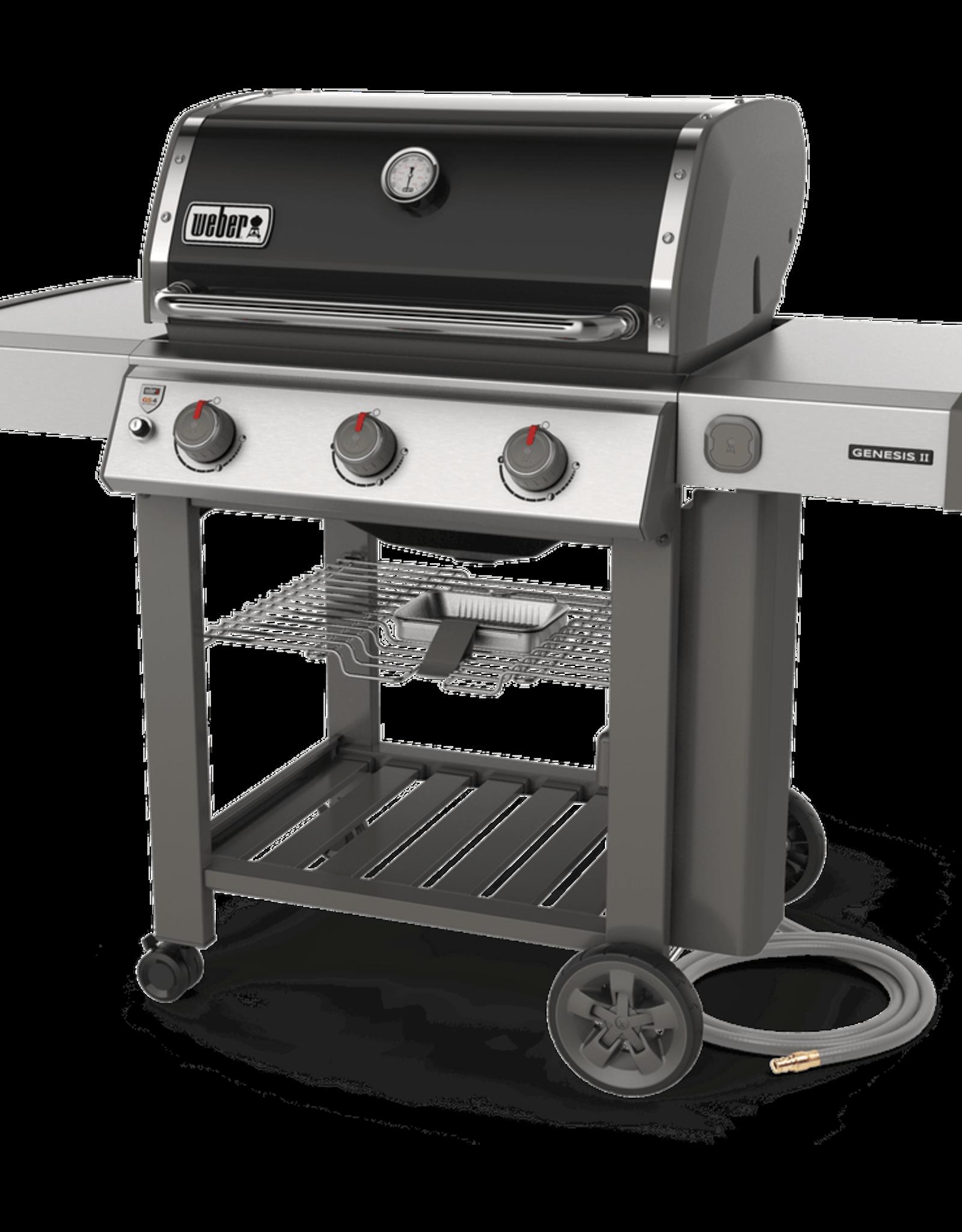 Weber Genesis II® E-310 NG Black