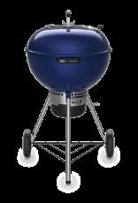 """Weber Weber Master-Touch 22"""" Charcoal Grill, Deep Ocean Blue"""