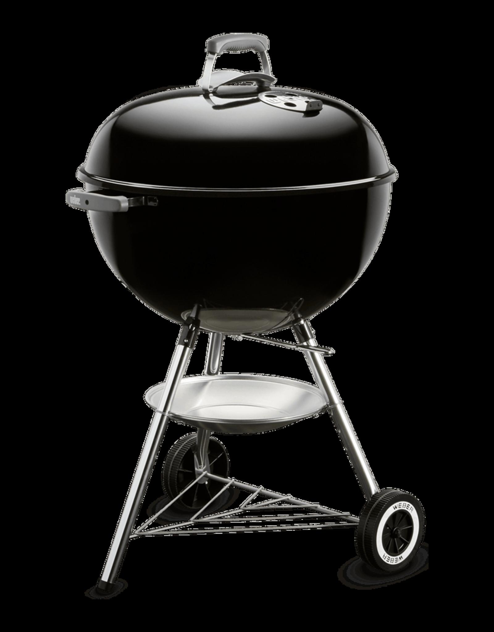 """Weber Weber Original Kettle 22"""" Charcoal Grill, Black 741001"""