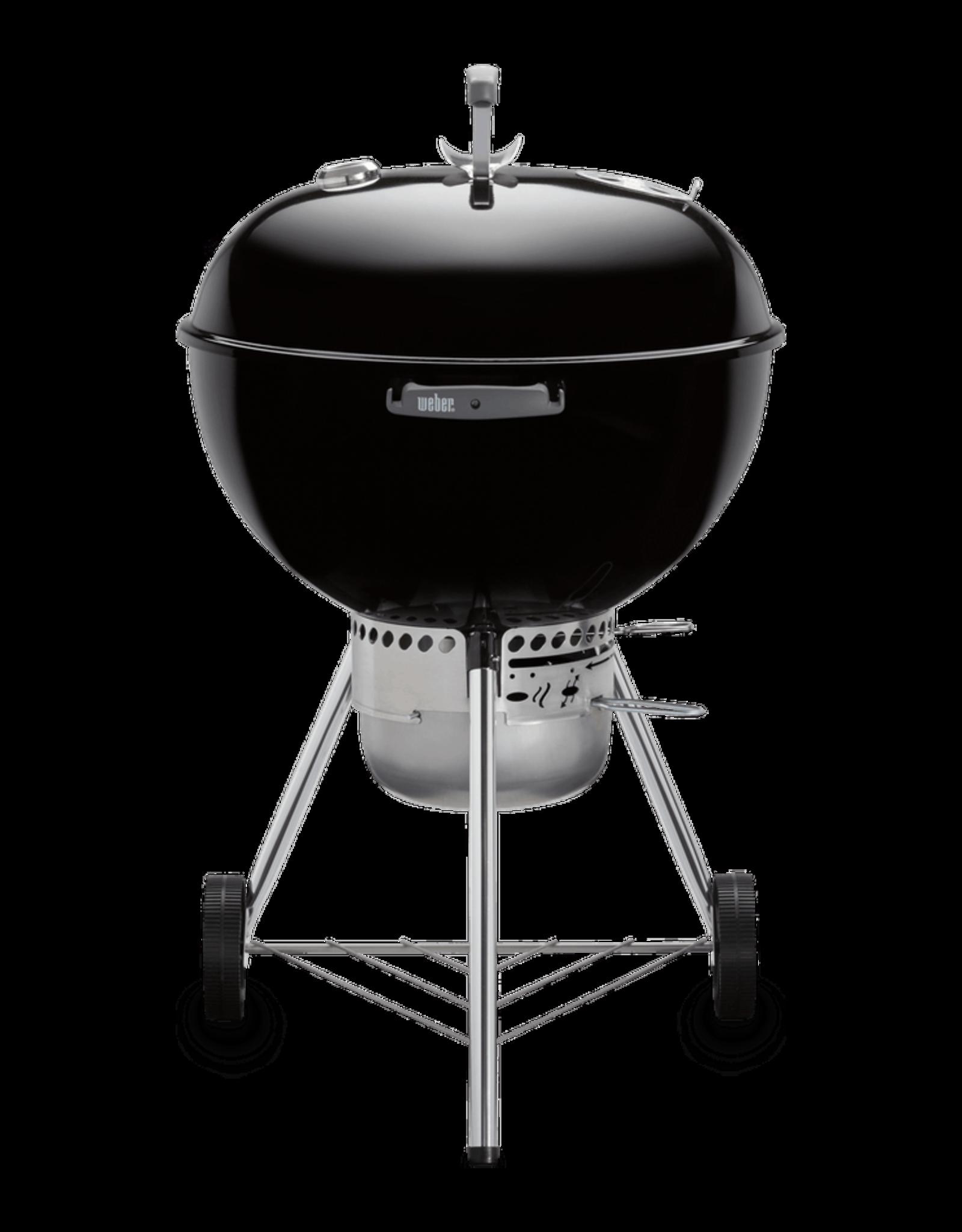"Weber Original Kettle Premium 22"" Charcoal Grill, Black 14401001"