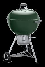 """Weber Weber Original Kettle Premium 22"""" Charcoal Grill, Green 14407001"""