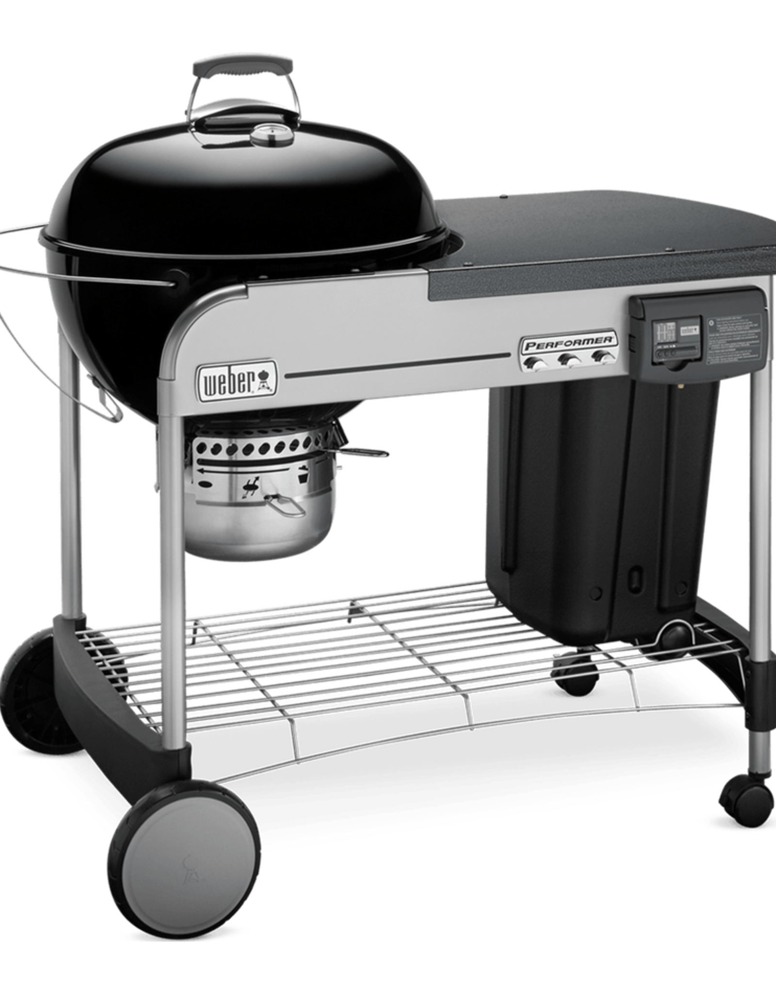 "Weber Weber Performer Deluxe 22"" Charcoal Grill, Black 15501001"