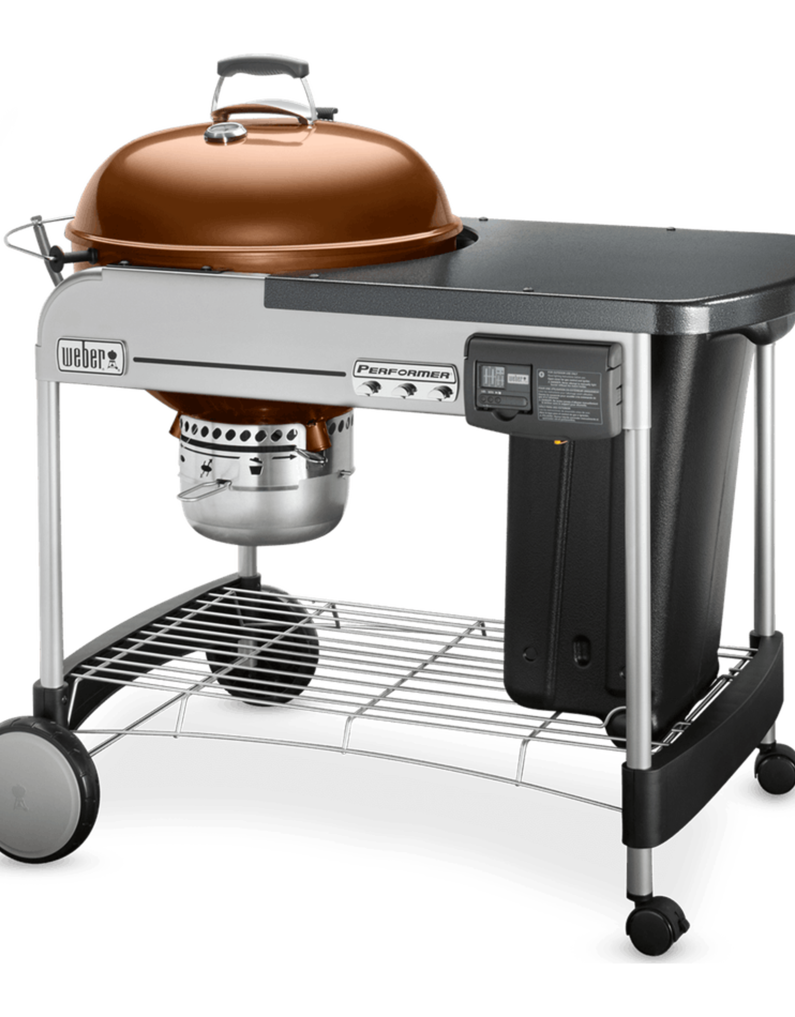 "Weber Performer® Deluxe 22"" Charcoal Grill, Copper"