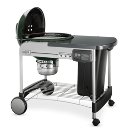 """Weber Performer® Deluxe 22"""" Charcoal Grill, Green"""