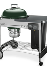"""Weber Weber Performer Deluxe 22"""" Charcoal Grill, Green 15507001"""