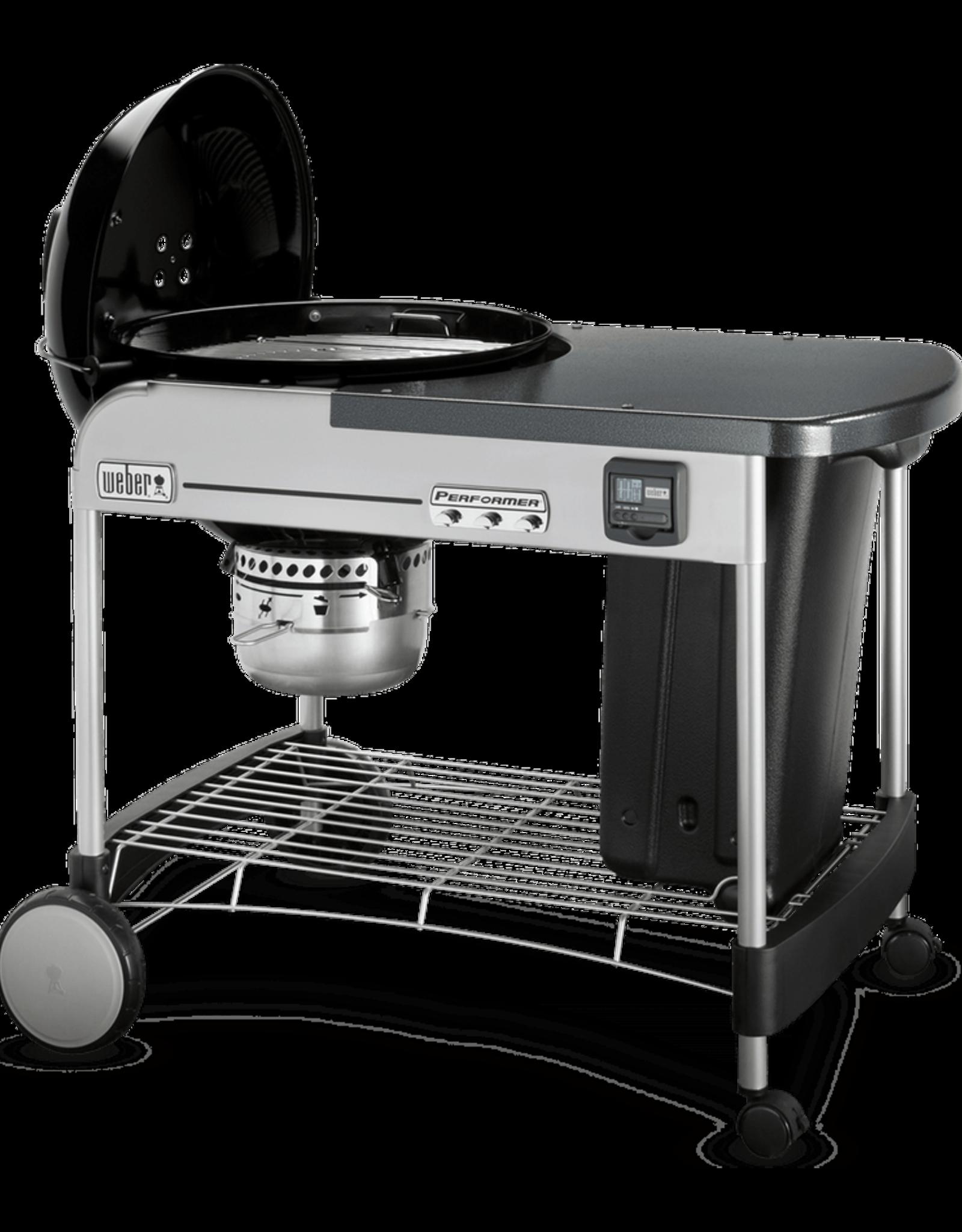 "Weber Weber Performer Premium 22"" Charcoal Grill, Black 15401001"