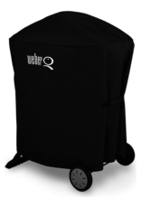 Weber Premium Grill Cover - Fits Weber Q® 100/1000, 200/2000 with portable cart
