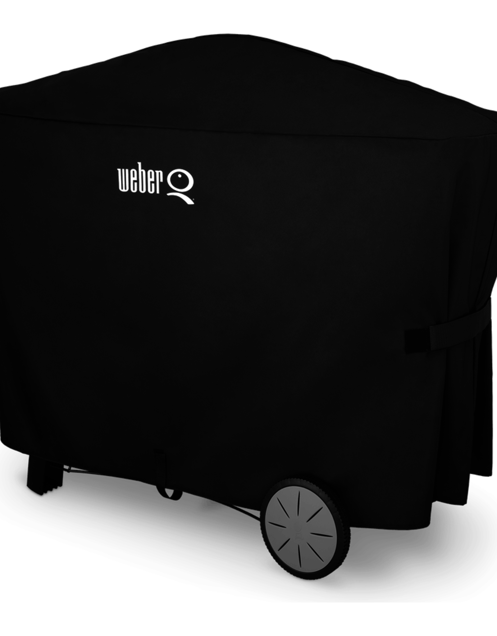 Weber Premium Grill Cover - Fits Weber Q 2000 series grills with Q cart and 3000 series