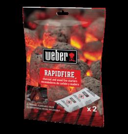 Weber RapidFire Fire Starters 2pc