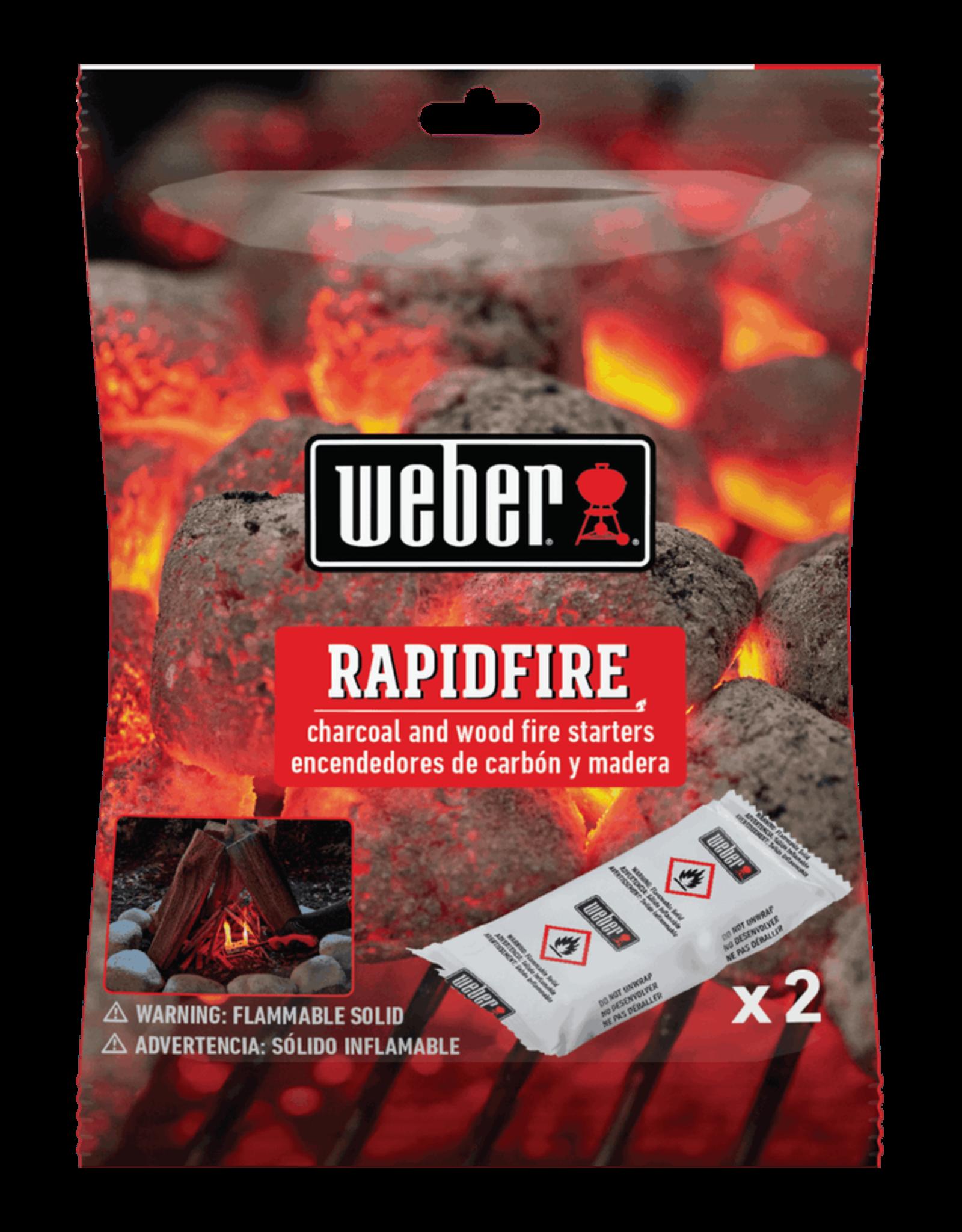 Weber RapidFire Lighter Packs/Trial-Size