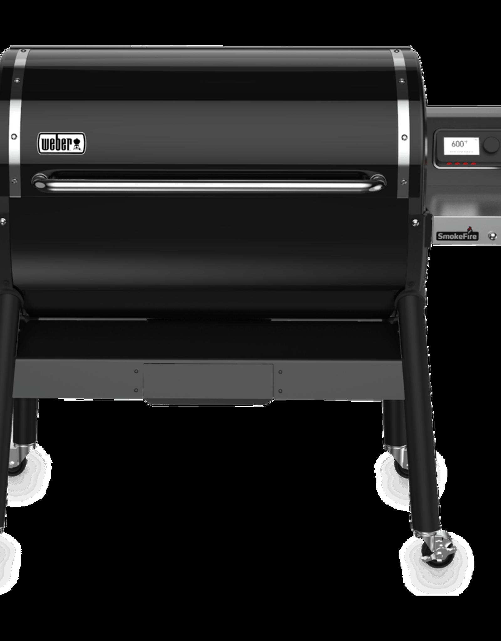 Weber SmokeFire EX6 Wood Fired Pellet Grill (2nd Gen) Black 23510201