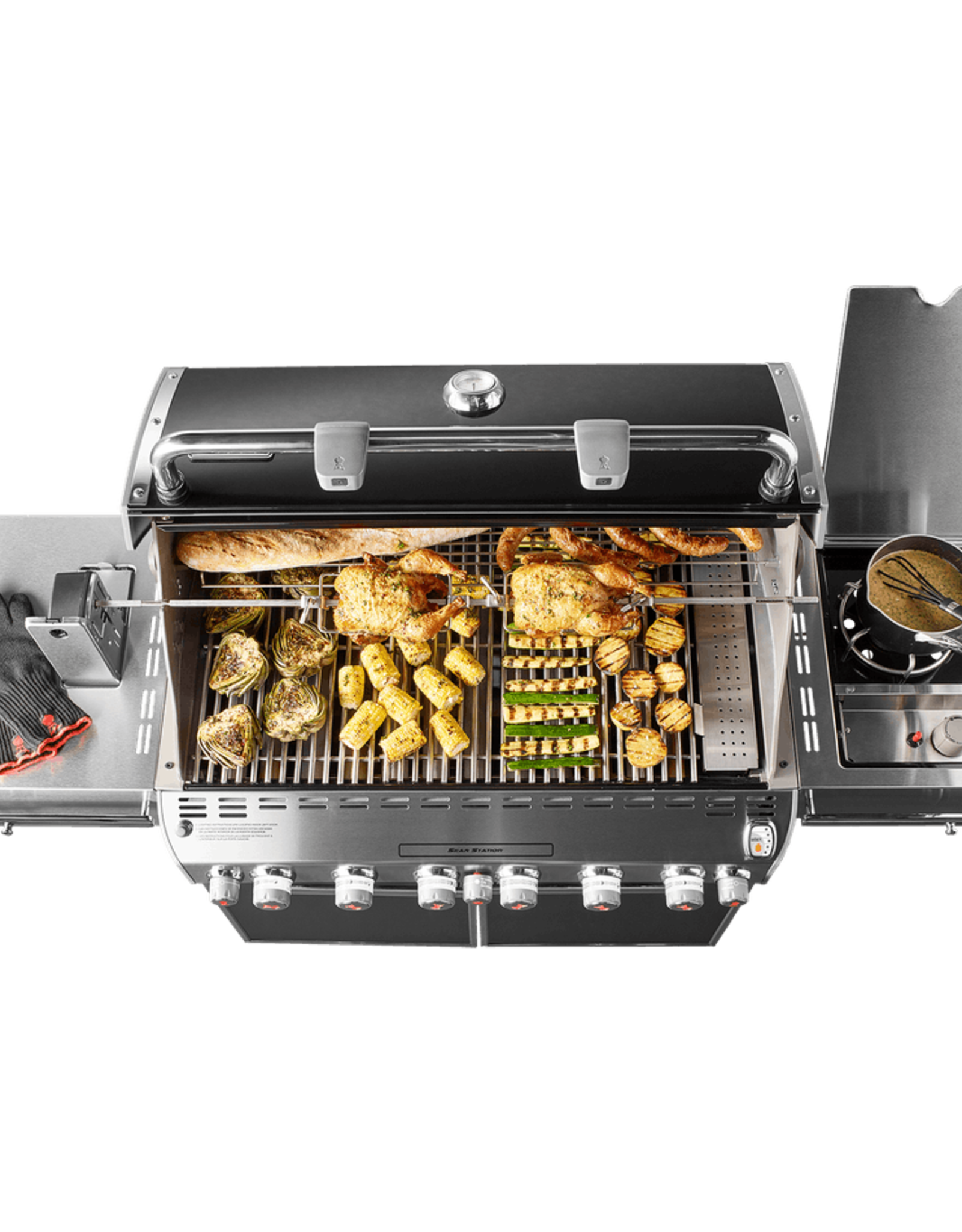Weber Summit® E-670 LP, Black