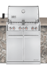 Weber Summit S-460 Built-In Gas Grill NG SS
