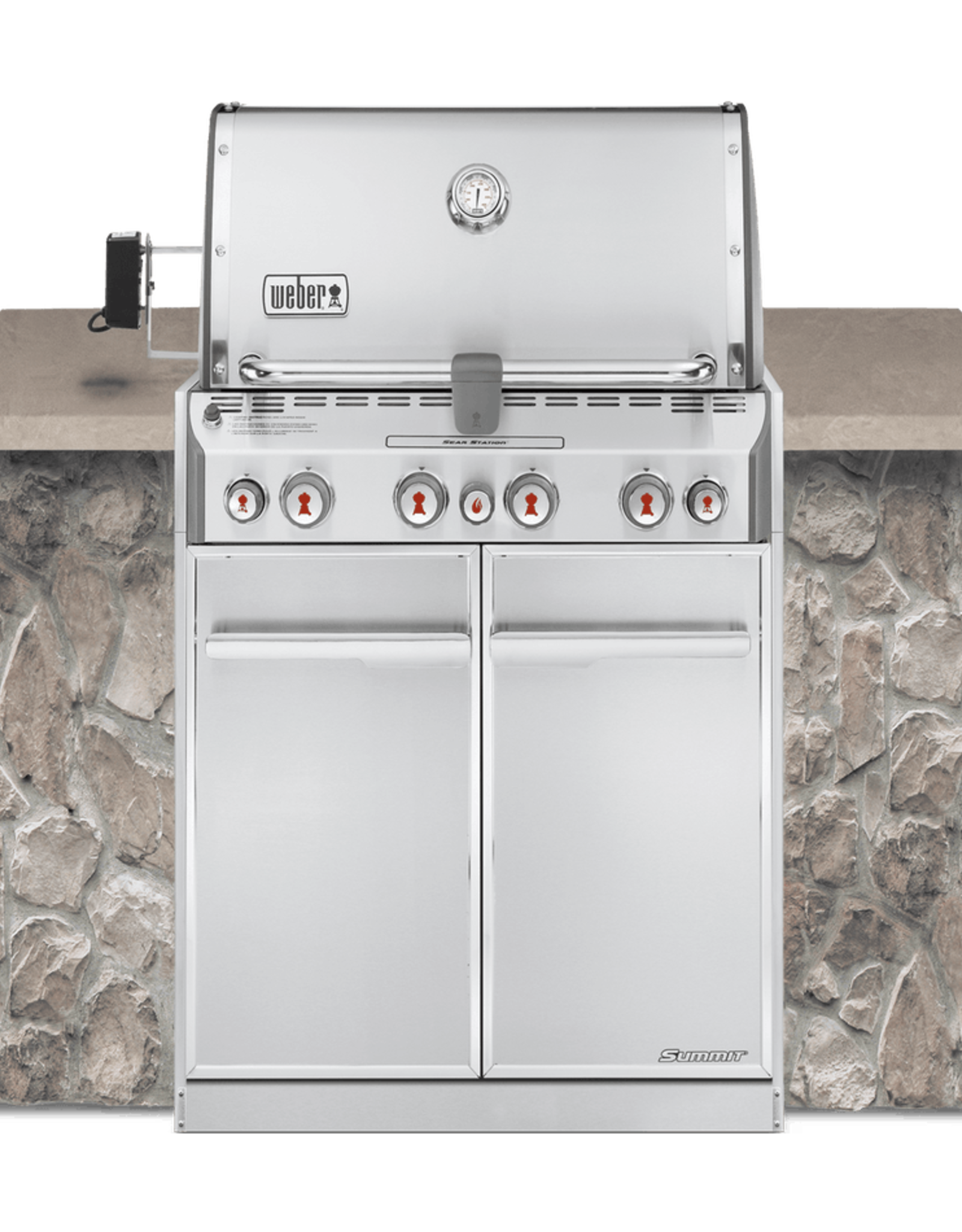 Weber Summit® S-460 Built-In Gas Grill NG, SS