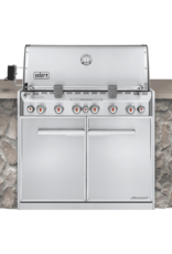 Weber Summit® S-660 Built-In Gas Grill LP, SS