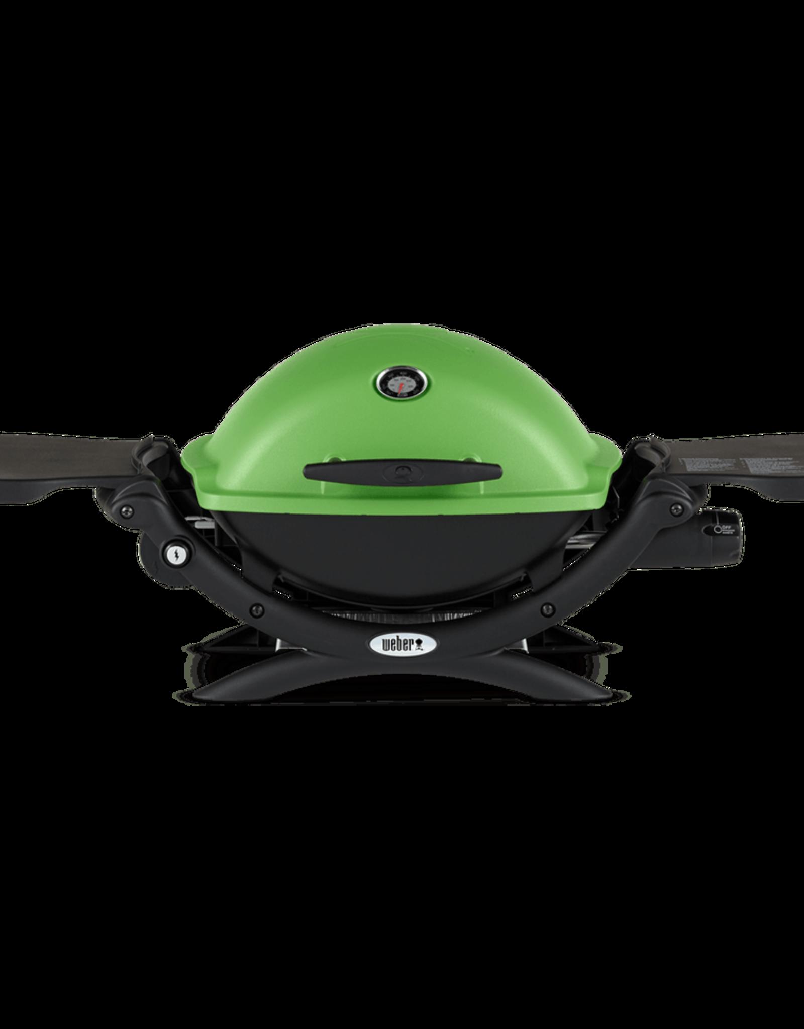 Weber Weber® Q® 1200 Gas Grill LP Green