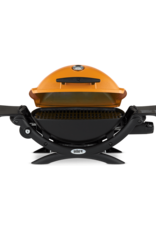 Weber Q 1200 Gas Grill LP Orange 51190001