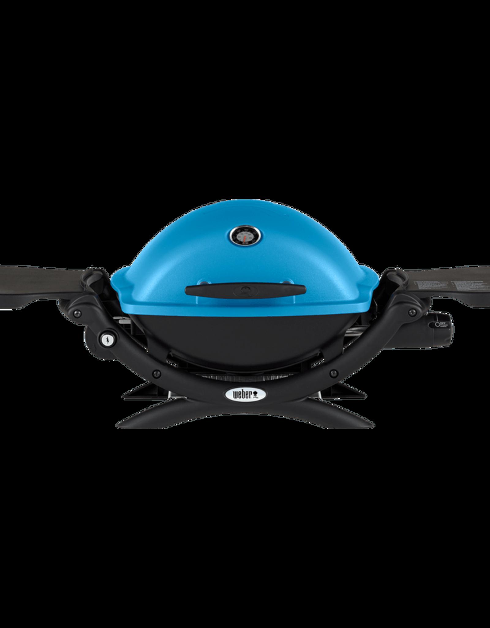 Weber Weber® Q®1200 Gas Grill LP Blue