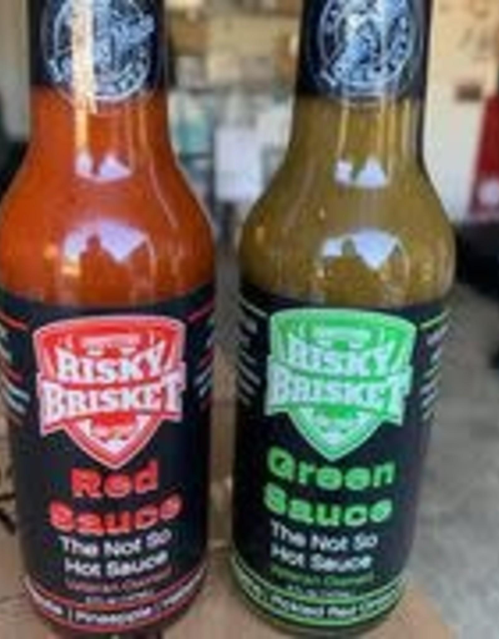 Risky Brisket Green Sauce