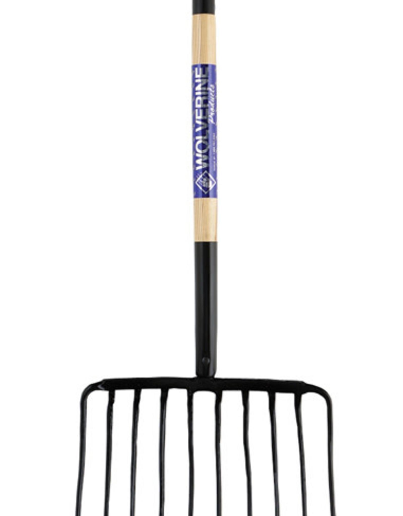 Wolverine 10 tine mulch fork