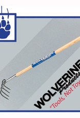"Wolverine 4 tine cultivator, 54"" wood handle"