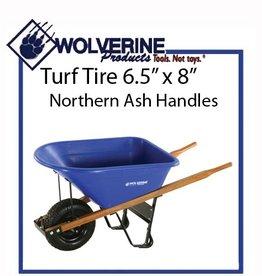 Wolverine 6 Cu Ft Poly Wheelbarrow